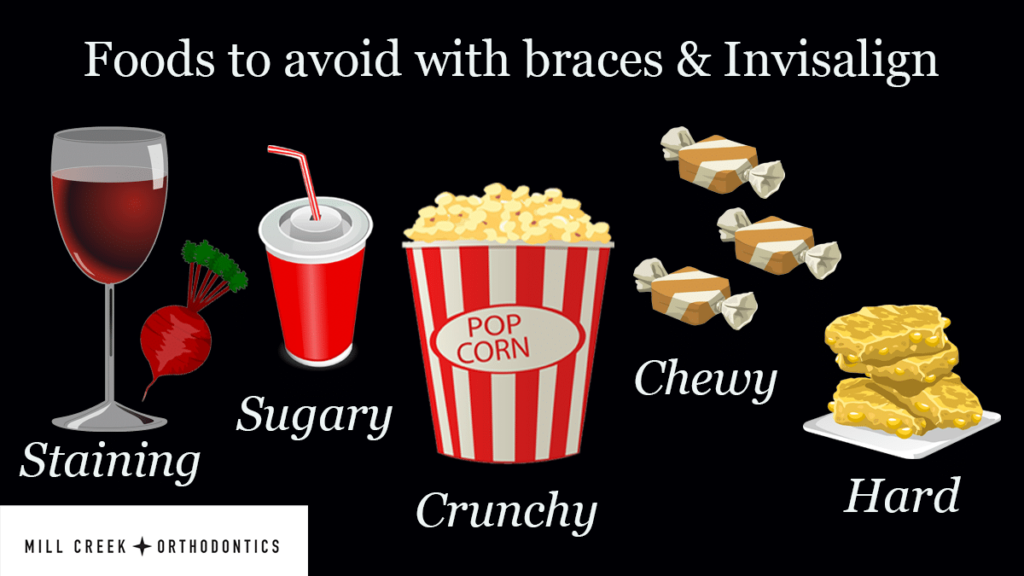 Foods to Avoid with Braces & Invisalign